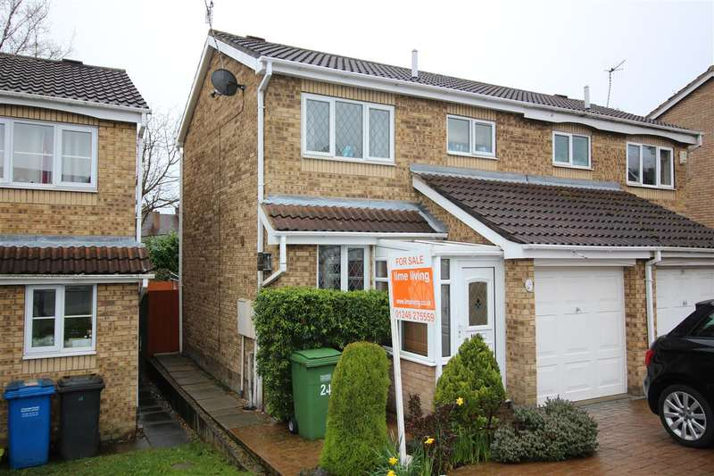 2 Bedrooms Semi Detached House for sale in Sherbourne Avenue, Chesterfield