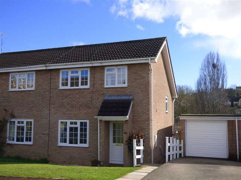 3 Bedrooms Semi Detached House for sale in Stuart Avenue, The Danes, Chepstow