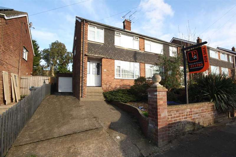 3 Bedrooms Semi Detached House for sale in Oulton Road, Ipswich