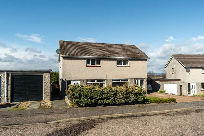 2 Bedrooms Semi Detached House for sale in Currievale Drive, Currie, Edinburgh, EH14 5RP