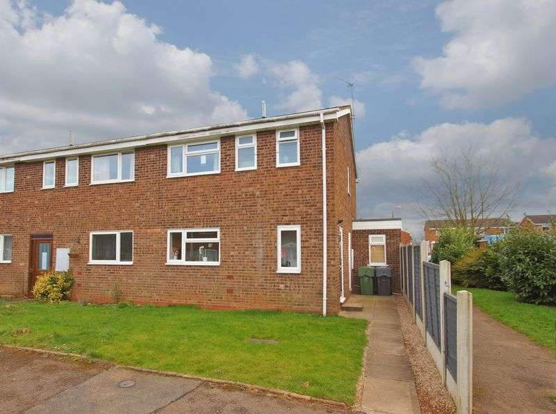 3 Bedrooms Terraced House for sale in Buckfast Close, Deansway. Bromsgrove.