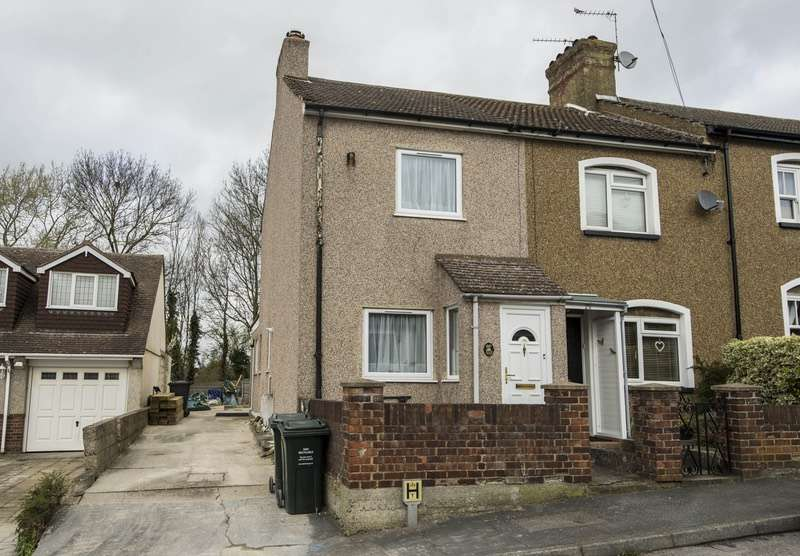 2 Bedrooms End Of Terrace House for sale in Wood Lane, Dartford, Kent, DA2