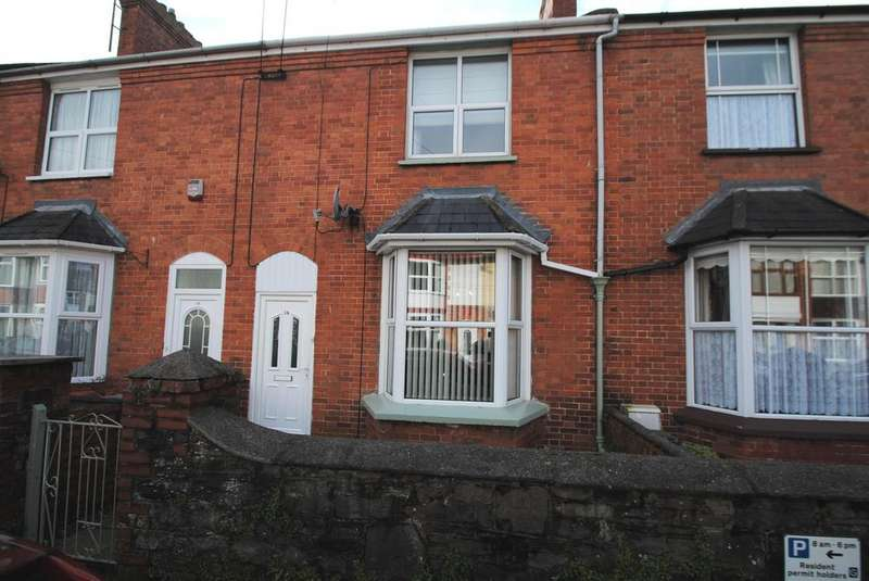3 Bedrooms Terraced House for sale in Kingsley Avenue, Barnstaple