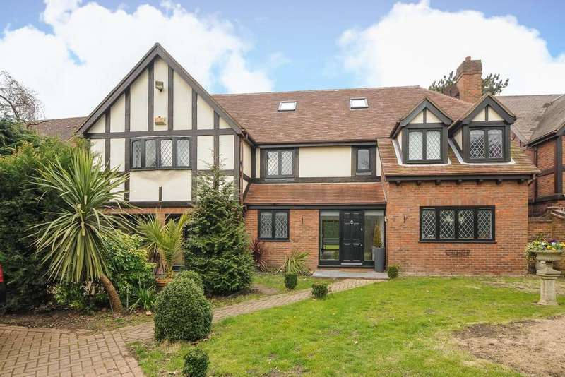 5 Bedrooms Detached House for sale in Berryfield Close, Bickley, BR1