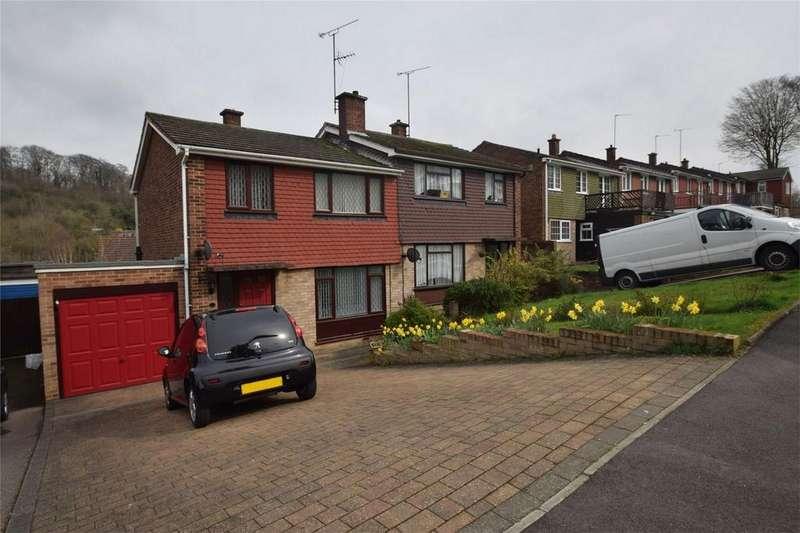 3 Bedrooms Semi Detached House for sale in Sheriff Drive, Walderslade, Kent