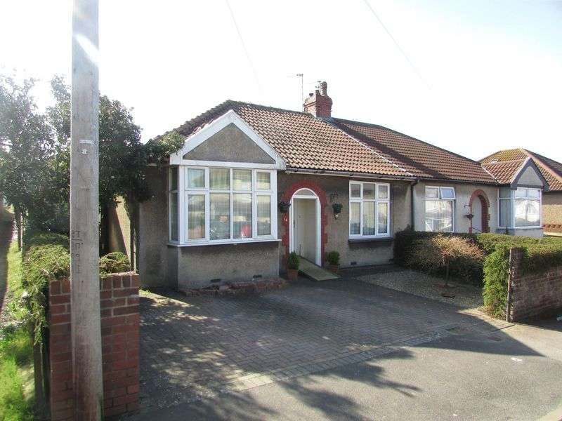 2 Bedrooms Semi Detached Bungalow for sale in Jersey Avenue, Bristol
