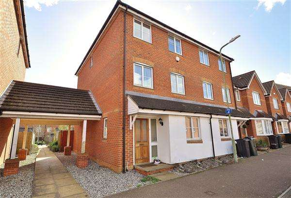 4 Bedrooms End Of Terrace House for sale in ASHFORD TN24