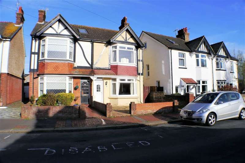 3 Bedrooms Semi Detached House for sale in Northfield Road, Worthing