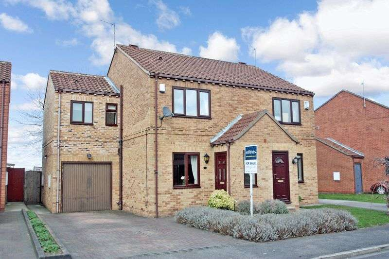 3 Bedrooms Semi Detached House for sale in Queen Margarets Drive, Byram