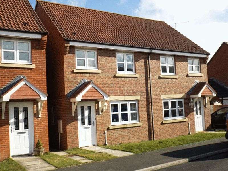 2 Bedrooms Semi Detached House for sale in Ladyburn Way, Hadston - Two Bedroom Semi Detached House