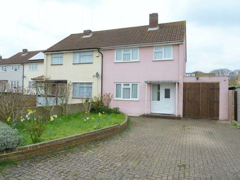 3 Bedrooms Semi Detached House for sale in Brook Road, Swanley