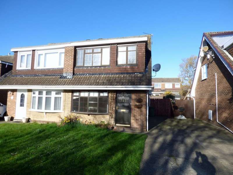 3 Bedrooms Semi Detached House for sale in Surbiton Road, Stockton-On-Tees, TS19