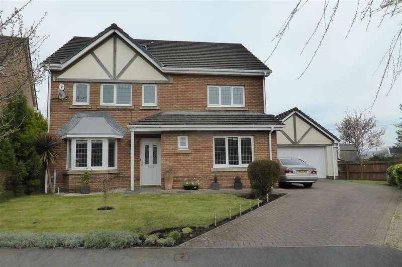 Detached House for sale in 39 The Meadows, Skewen, Neath