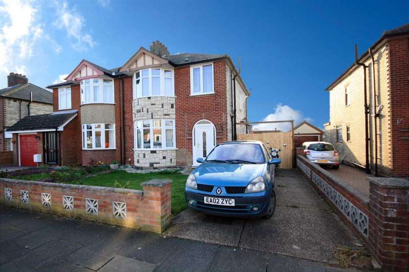 3 Bedrooms Semi Detached House for sale in Mersey Road, Ipswich