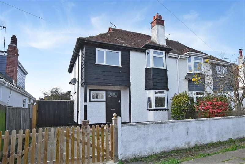 3 Bedrooms Semi Detached House for sale in West Hill Road, Herne Bay, Kent