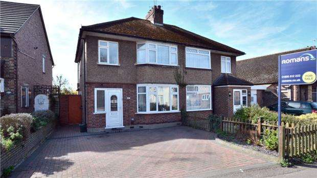 3 Bedrooms Semi Detached House for sale in Pield Heath Road, Hillingdon, Middlesex