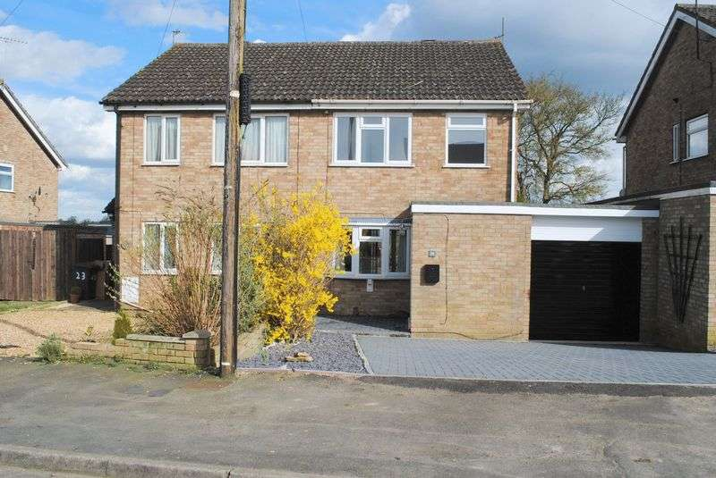 3 Bedrooms Semi Detached House for sale in Evelyn Way, Irchester