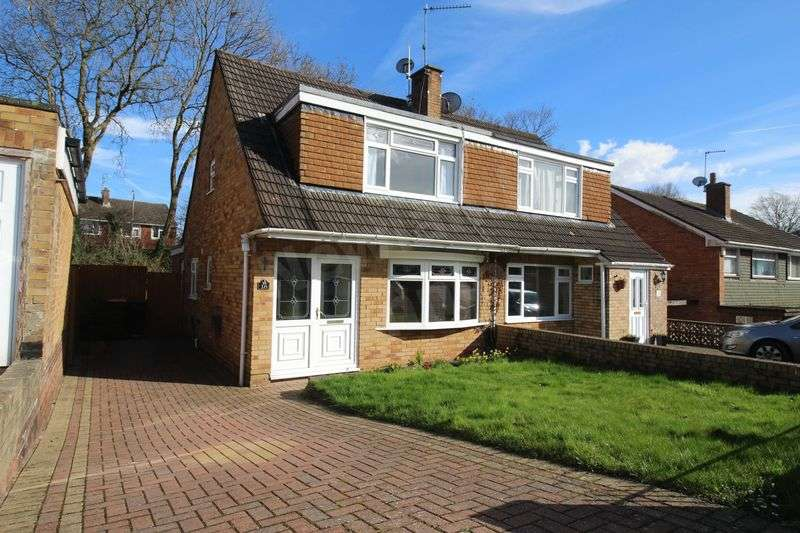 3 Bedrooms Semi Detached House for sale in Japonica Close, Malpas, Newport