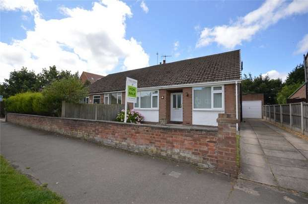 3 Bedrooms Semi Detached Bungalow for sale in Cross Lane, Bebington, Merseyside