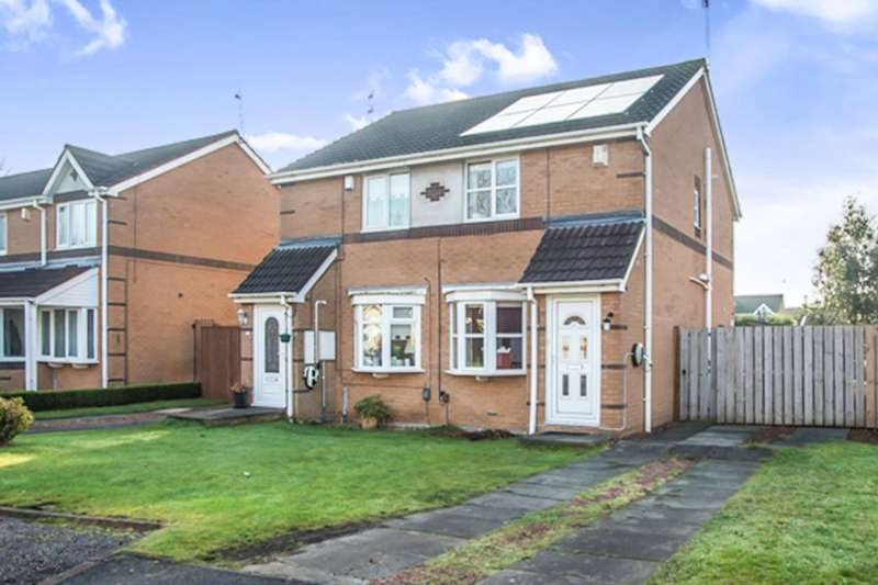 2 Bedrooms Semi Detached House for sale in Riverside Court, Dunston, Gateshead, NE11