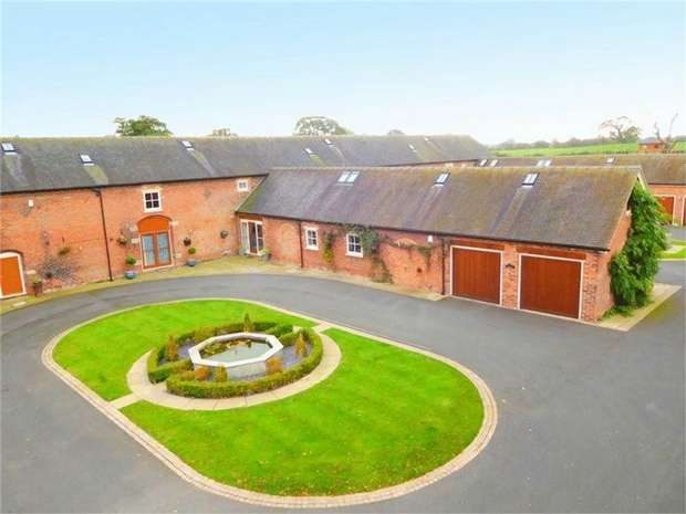 4 Bedrooms Mews House for sale in Deans Lane, Balterley, Crewe, Cheshire