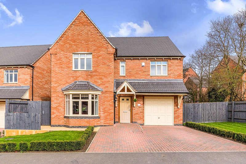 4 Bedrooms Detached House for sale in Trent Bridge, Coalville, LE67