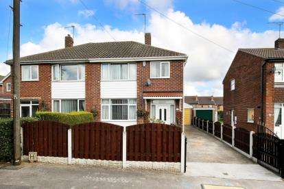 3 Bedrooms Semi Detached House for sale in Scholey Road, Wickersley, Rotherham, South Yorkshire