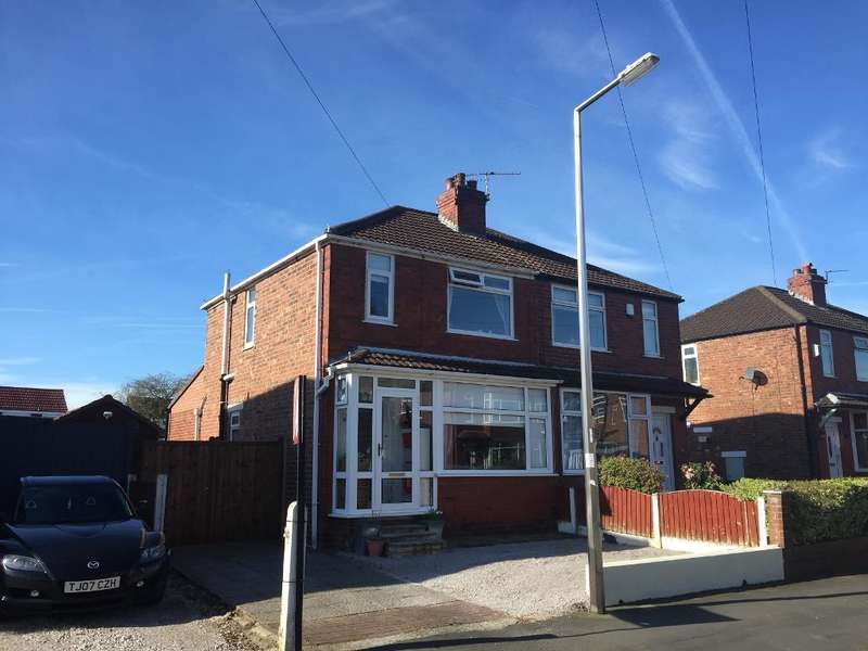 2 Bedrooms Semi Detached House for sale in Longmead Avenue, Hazel Grove, Stockport, Cheshire, SK7 5PG