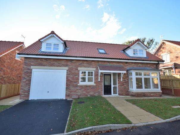 3 Bedrooms Semi Detached Bungalow for sale in (Plot 1) Racecourse Road, East Ayton, North Yorkshire YO13 9HT