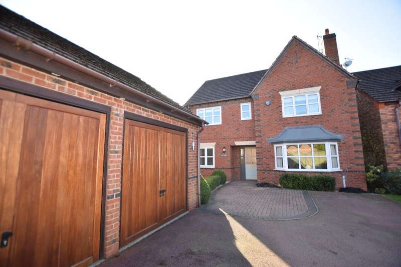 4 Bedrooms Detached House for sale in Whitchurch Lane, Dickens Heath