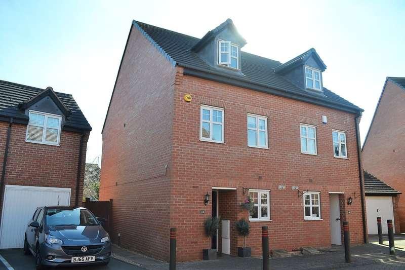 3 Bedrooms Semi Detached House for sale in Trafalgar Way, Lichfield