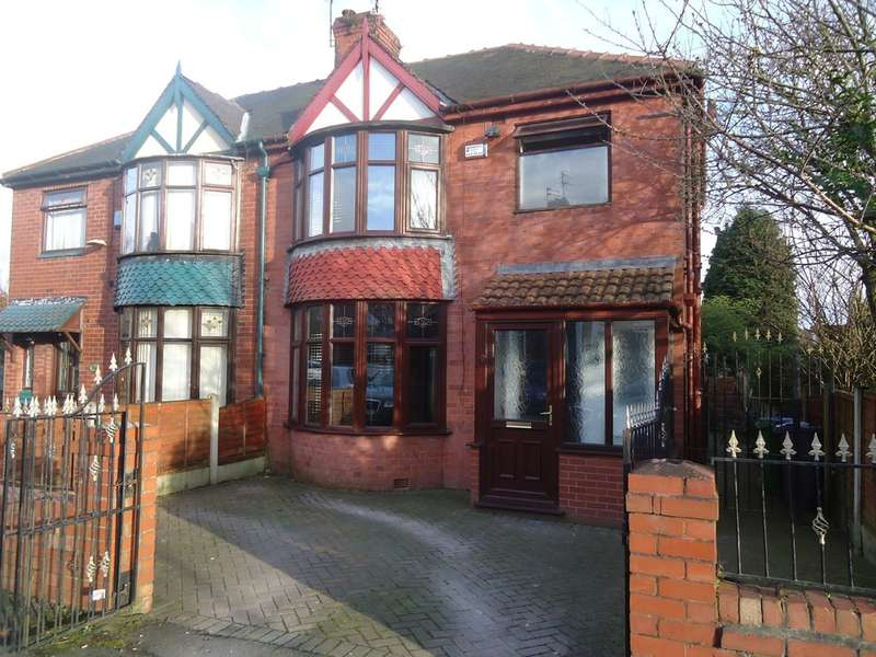 3 Bedrooms Semi Detached House for sale in Caledon Avenue, Moston