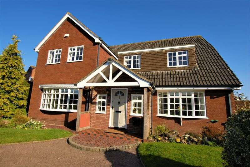 6 Bedrooms Detached House for sale in Allens Croft, Marchington