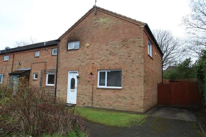 3 Bedrooms End Of Terrace House for sale in Florin Close, Pennyland, Milton Keynes