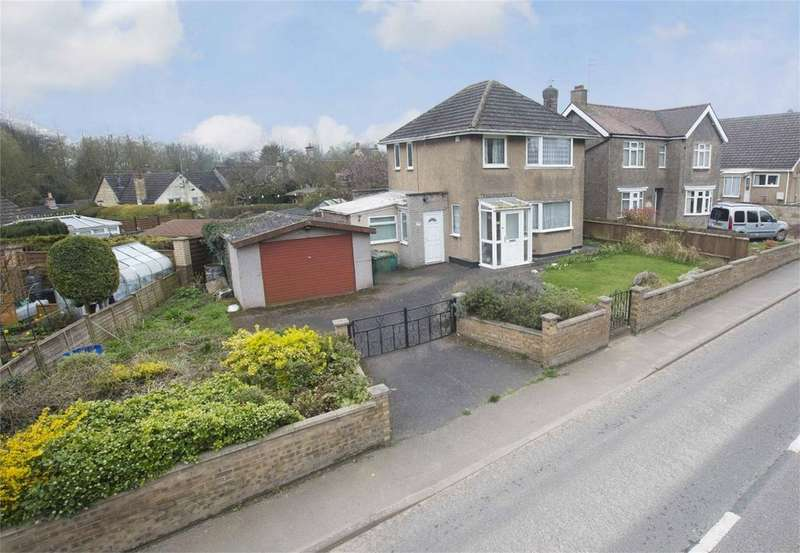 3 Bedrooms Detached House for sale in Oundle Road, Weldon, Northamptonshire