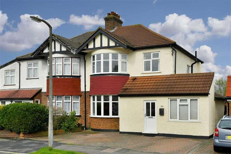 3 Bedrooms Semi Detached House for sale in Buxton Crescent, Cheam, Surrey