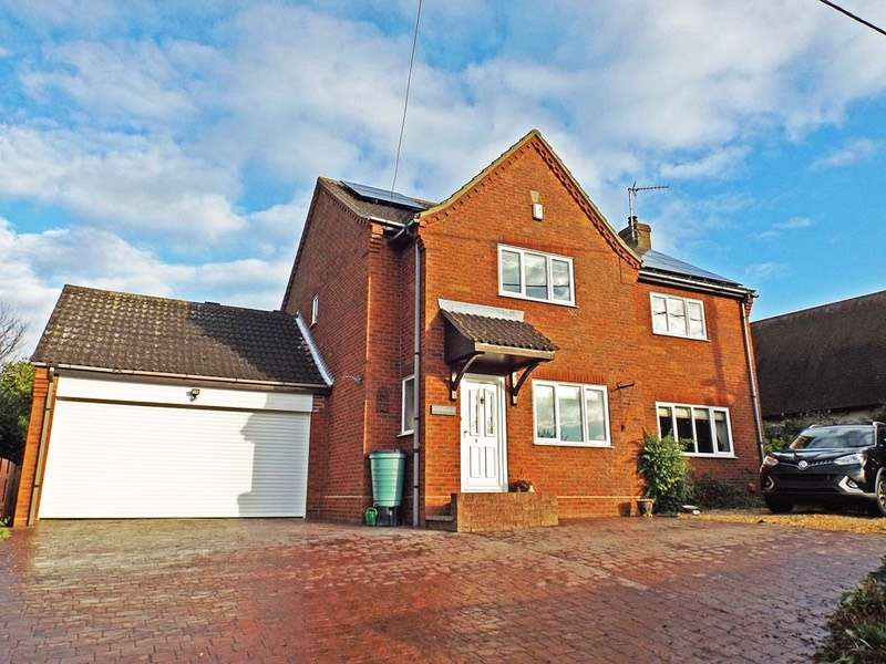 4 Bedrooms Detached House for sale in Raveley Road, Great Raveley, Huntingdon, Cambridgeshire, PE28