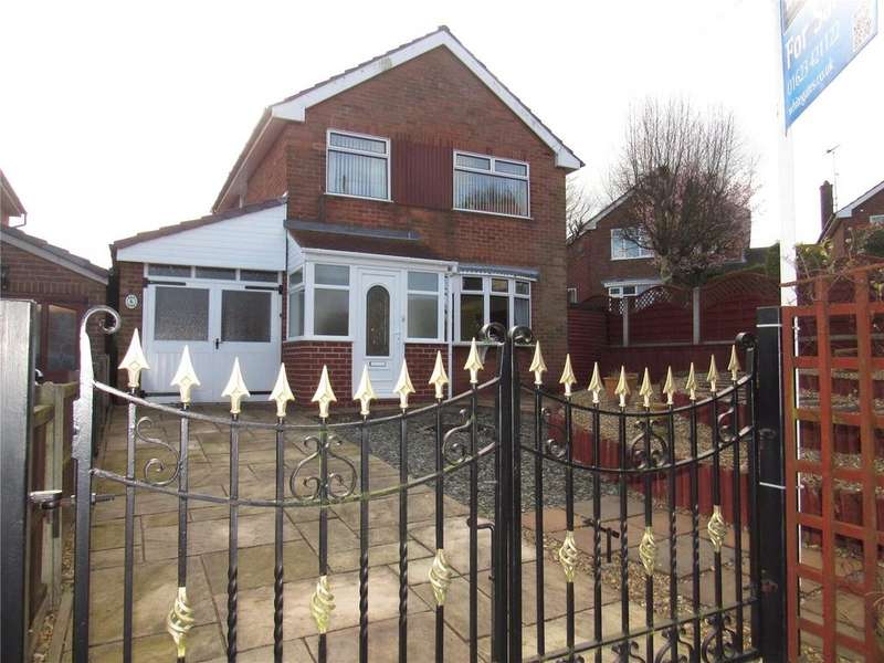 3 Bedrooms Detached House for sale in Leas Avenue, Pleasley, Nottinghamshire, NG19