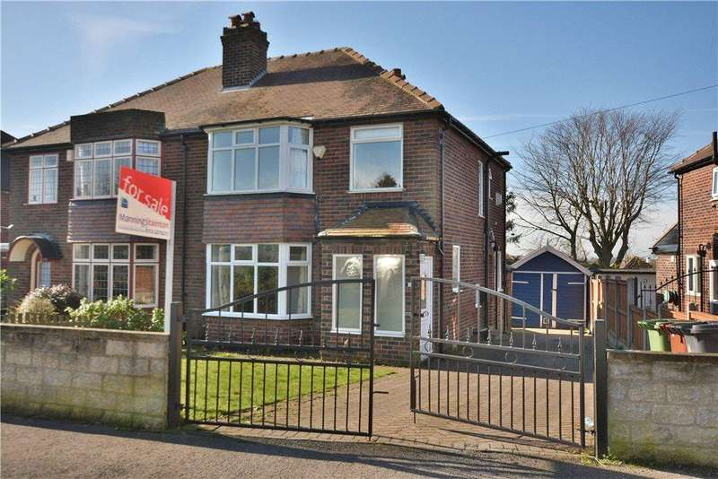4 Bedrooms Semi Detached House for sale in Carr Manor Parade, Moortown, Leeds