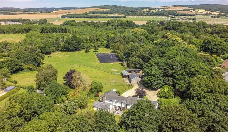 6 Bedrooms Equestrian Facility Character Property for sale in Woodmancote Lane, Hambrook, Chichester, West Sussex