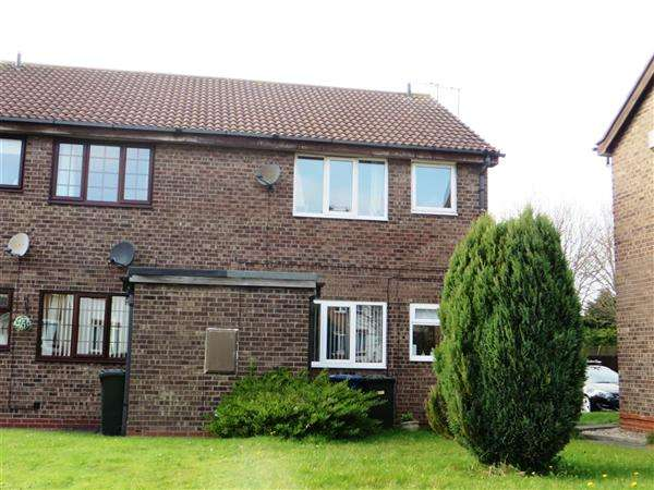 1 Bedroom Apartment Flat for sale in Alverston Close, Newcastle upon Tyne