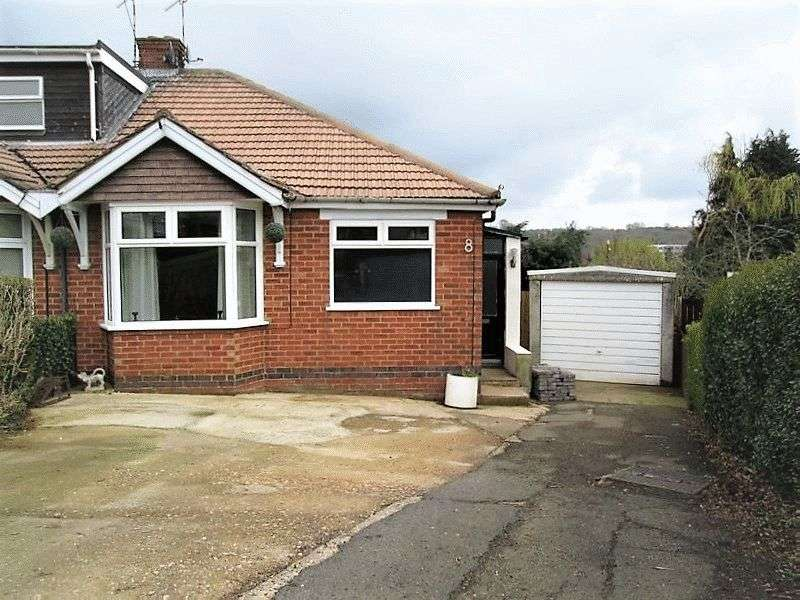 2 Bedrooms Semi Detached Bungalow for sale in Inlands Close, Daventry, NN11 4DG