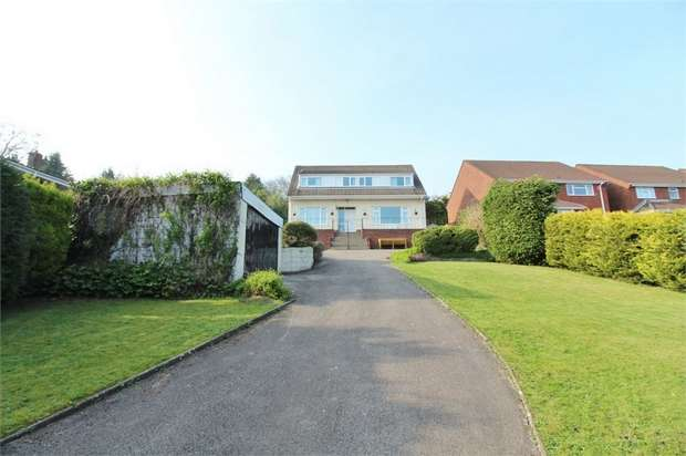 3 Bedrooms Detached House for sale in Mendip Close, NEWPORT