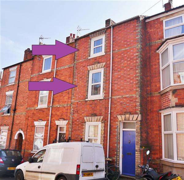 2 Bedrooms Flat for sale in Oxford Street, Grantham