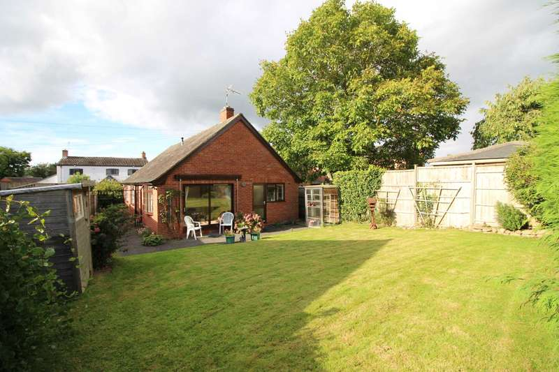 2 Bedrooms Detached Bungalow for sale in Highgates, Bruntingthorpe, Leicestershire