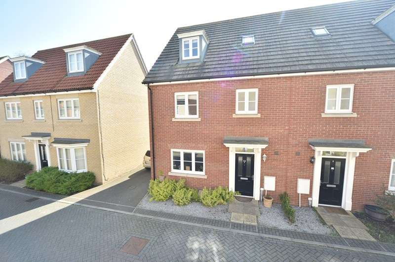 4 Bedrooms Semi Detached House for sale in Bridge Farm Close, Mildenhall, Bury St. Edmunds