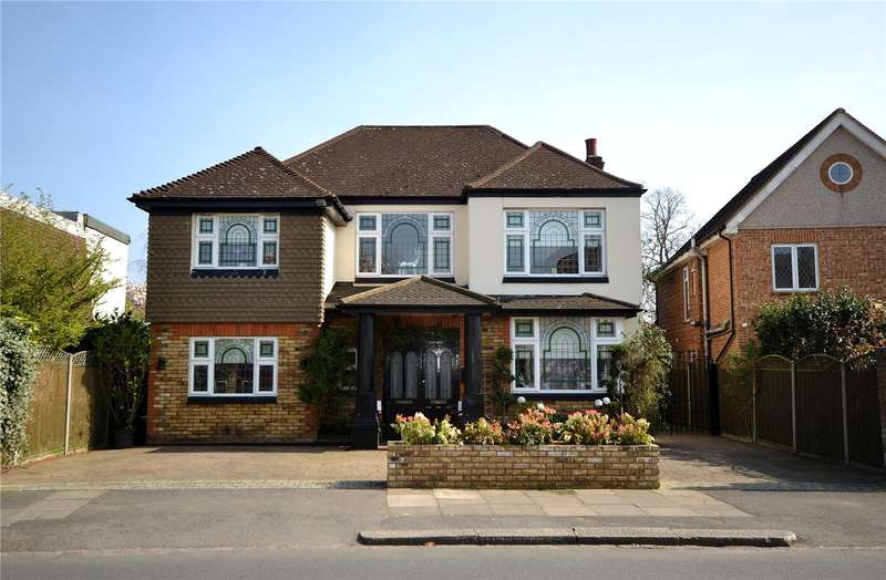 4 Bedrooms Detached House for sale in Myddelton Park, Whetstone, London, N20