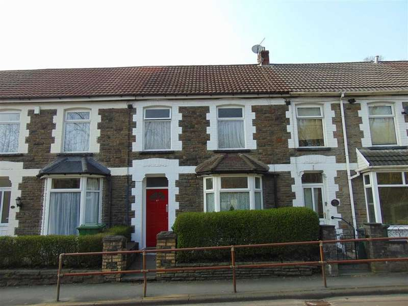 3 Bedrooms Terraced House for sale in Berw Road, Pontypridd, Rhondda Cynon Taff