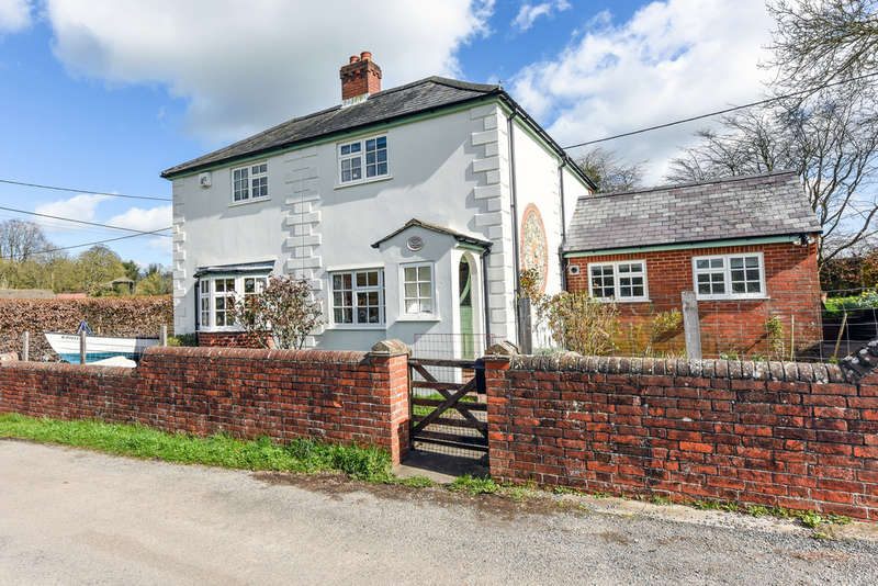 4 Bedrooms Detached House for sale in Chalk Hill, Soberton