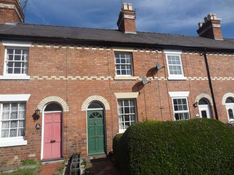 2 Bedrooms Terraced House for sale in Greenfield Street, Shrewsbury